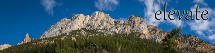 mountain range large format images