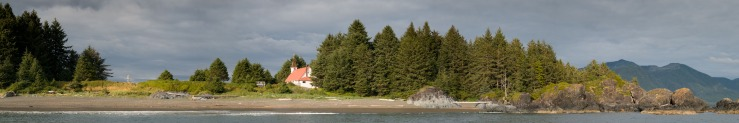 27762 x 4627 pixel image of the beach at Friendly Cove, Nootka Island