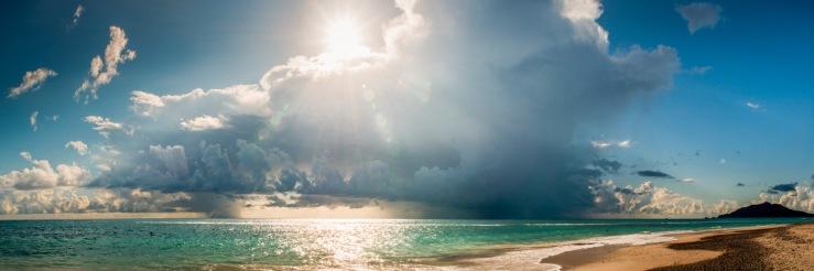 Cabo Pulmo beach storm.
