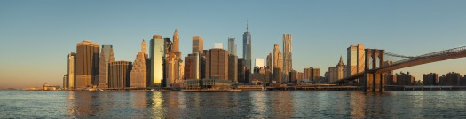 Early morning light on Lower Manhattan