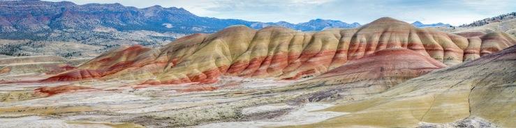 Amazing landscape at Painted hills, central oregon