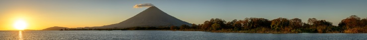 volcano concepcion on ometepe in nicaragua