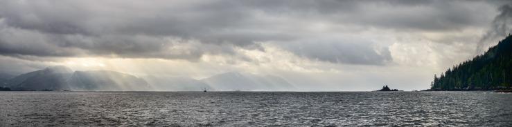 Tuna boat in Quatsino Sound